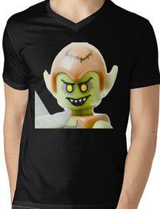 The Lego Goblin minifigure Mens V-Neck T-Shirt