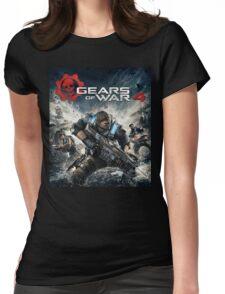 GEARS OF WAR 4 [4K]  Womens Fitted T-Shirt