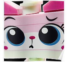 The ever lovable master builder Unikitty Poster