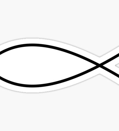 Christian Fish Sticker
