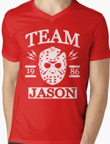Team Jason Mens V-Neck T-Shirt