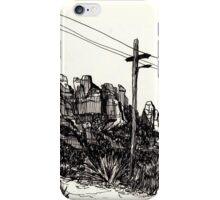 Desert Landscape 01 iPhone Case/Skin