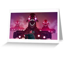 Hyper Light Drifter Sticker Greeting Card