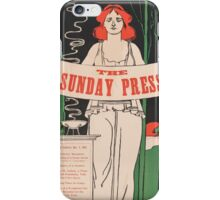 Artist Posters Special features Nov 3 1895 0495 iPhone Case/Skin