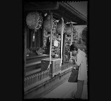 Autumn in Japan:  Praying in Silence Unisex T-Shirt