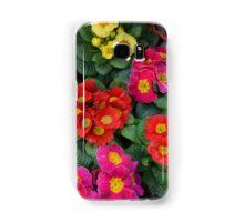 Multi Colored Polyanthus Samsung Galaxy Case/Skin