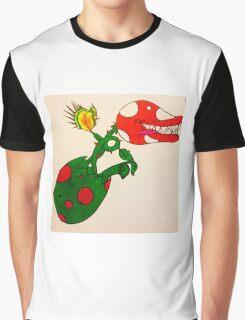 Piranha Plant Hatchling Graphic T-Shirt