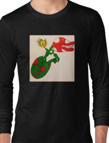 Piranha Plant Hatchling Long Sleeve T-Shirt