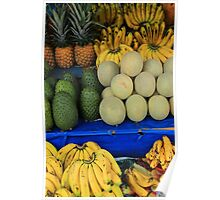 Exotic Fruit Market Poster