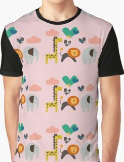 Jungle Party Graphic T-Shirt