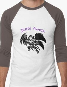 Smite - Death Awaits (Chibi) Men's Baseball ¾ T-Shirt