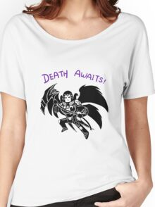 Smite - Death Awaits (Chibi) Women's Relaxed Fit T-Shirt