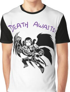 Smite - Death Awaits (Chibi) Graphic T-Shirt