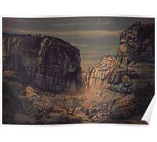 Desert Landscape 06 Poster