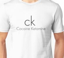Cocaine Ketamine CK Unisex T-Shirt