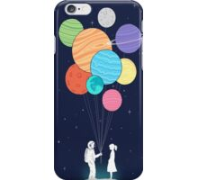 out of space love iPhone Case/Skin
