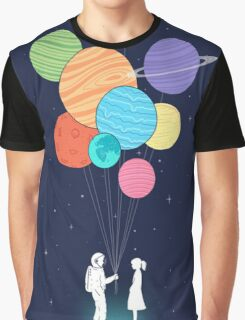 out of space love Graphic T-Shirt