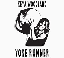 Keya Rachel Woodland - Yoke Runner Unisex T-Shirt