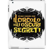 Logo - Il circolo degli oscuri segreti iPad Case/Skin