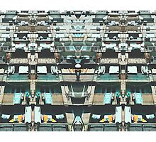 Tilting Urban Structure Photographic Print