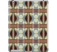 Brown And Blue Pattern iPad Case/Skin