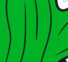 little green cactus, desert Sticker