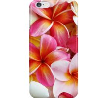 Plumeria Pink Frangipani Tropical Hawaiian Flower Floral Fine Art iPhone Case/Skin