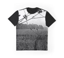 Mist Caught On Web Graphic T-Shirt