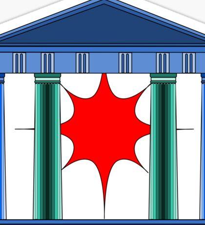 Doric Greek temple  Sticker