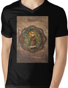 Steampunk Adventurer Mens V-Neck T-Shirt