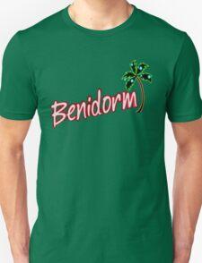 BENIDORM LOGO FROM POPULAR TV SERIES CULT BRITISH TV Unisex T-Shirt