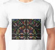NGV Melbourne - Stained Glass Ceiling Detail. Unisex T-Shirt