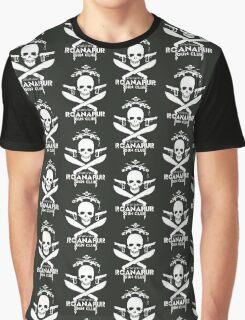 Black Lagoon ROANAPUR GUN CLUB Graphic T-Shirt