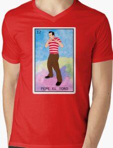 PEPE EL TORO Mens V-Neck T-Shirt