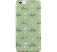 A good day for a bike ride. iPhone Case/Skin