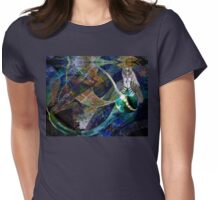 The Education of a Goddess Womens Fitted T-Shirt