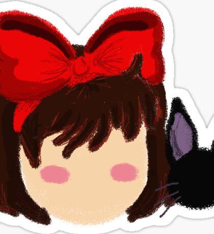 Kiki and Jiji Sticker