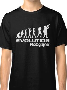 Evolution Of A Photographer Classic T-Shirt