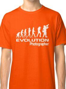 Evolution Of A Photographer Classic T-Shirt