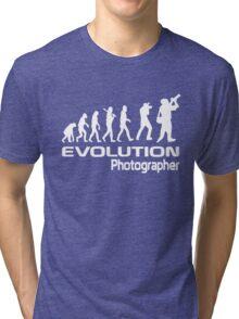 Evolution Of A Photographer Tri-blend T-Shirt