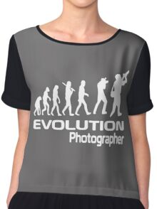 Evolution Of A Photographer Chiffon Top
