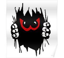 Monster peekaboo, peek-a-boo play Poster
