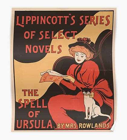 Artist Posters The spell of Ursula by Mrs Rowlands Lippincott's series of select novels 0744 Poster