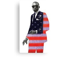 Kanye West for president Canvas Print