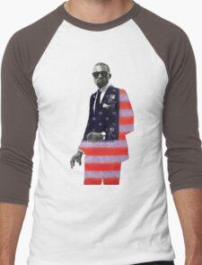 Kanye West for president Men's Baseball ¾ T-Shirt
