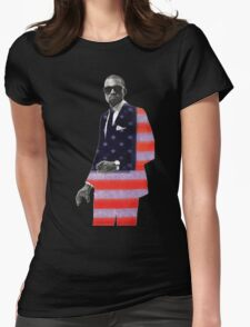 Kanye West for president Womens Fitted T-Shirt
