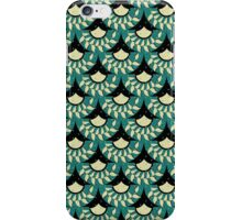 Geometric Heliconia Fan Pattern iPhone Case/Skin