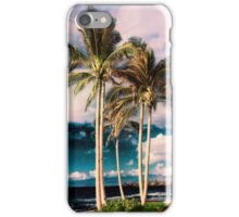 Tropical Retro Palm Tree Vintage Hawaiian Palms iPhone Case/Skin