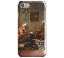 EUGÈNE-SAMUEL-AUGUSTE FROMENTIN ; THE SCRIBE iPhone Case/Skin