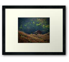 The Jungle retreat  Framed Print